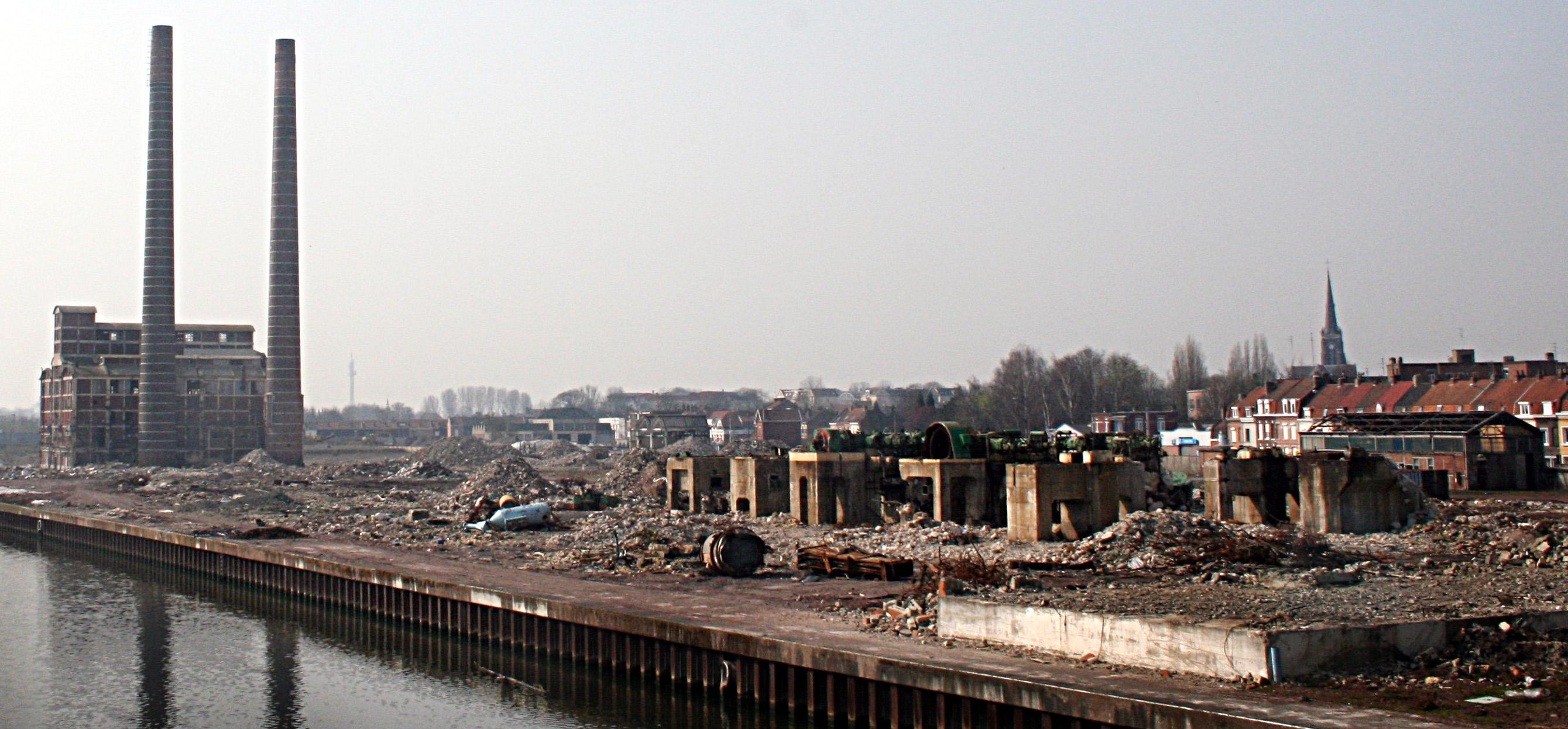 Friche_industrielle_Rhodia_canal_de_la_Deûle_Saint-André-lez-Lille2007