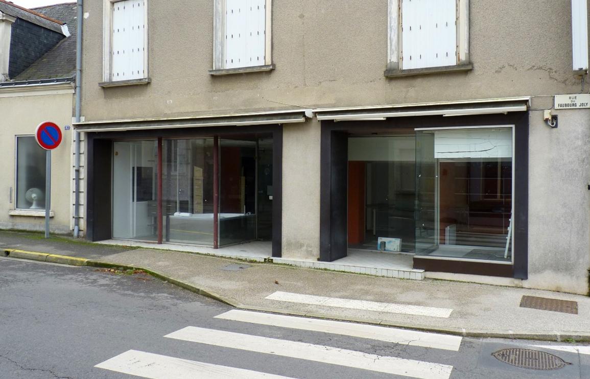 Centre-ville de Châteauneuf sur Sarthe (49)