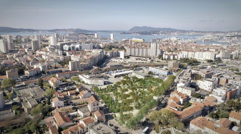 #Presse – Toulon – La Ville revalorise ses friches